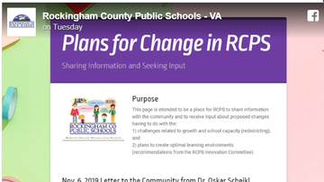 Steve - Rockingham Schools Announce Proposed Redistricting/Possible Student Moves