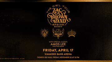 None - Zac Brown Band: The Owl Tour at Simmons Bank Arena