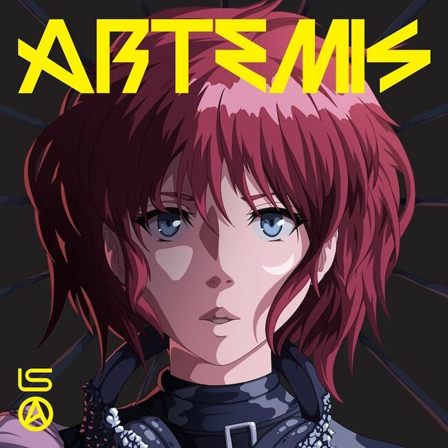 Lindsey Stirling - 'Artemis' Album Cover Art