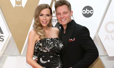 Music News - Frankie Ballard's Wife Christina Shows Off Growing Baby Bump At CMA Awards
