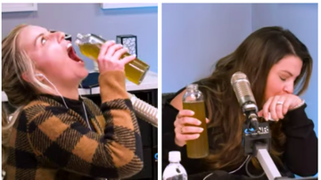 Ryan Seacrest - Sisanie and Tanya Rad Try Seacrest's Tea Concoctions and OMG: Watch