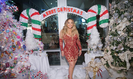 Paul Kelley - Mariah's  'All I Want For Christmas' Voted The Most Annoying Christmas Song