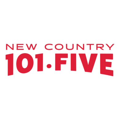 New Country 101 FIVE logo
