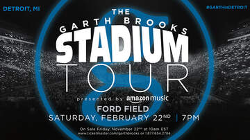 None - Garth Brooks Stadium Tour