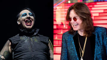 iHeartRadio Music News - Marilyn Manson Honored To Join Ozzy Osbourne On Rescheduled Tour Dates