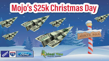 Featured Promotions - Mojo's $25k Christmas Day