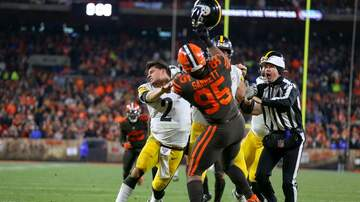 None - Watch: Browns Steelers FULL FIGHT