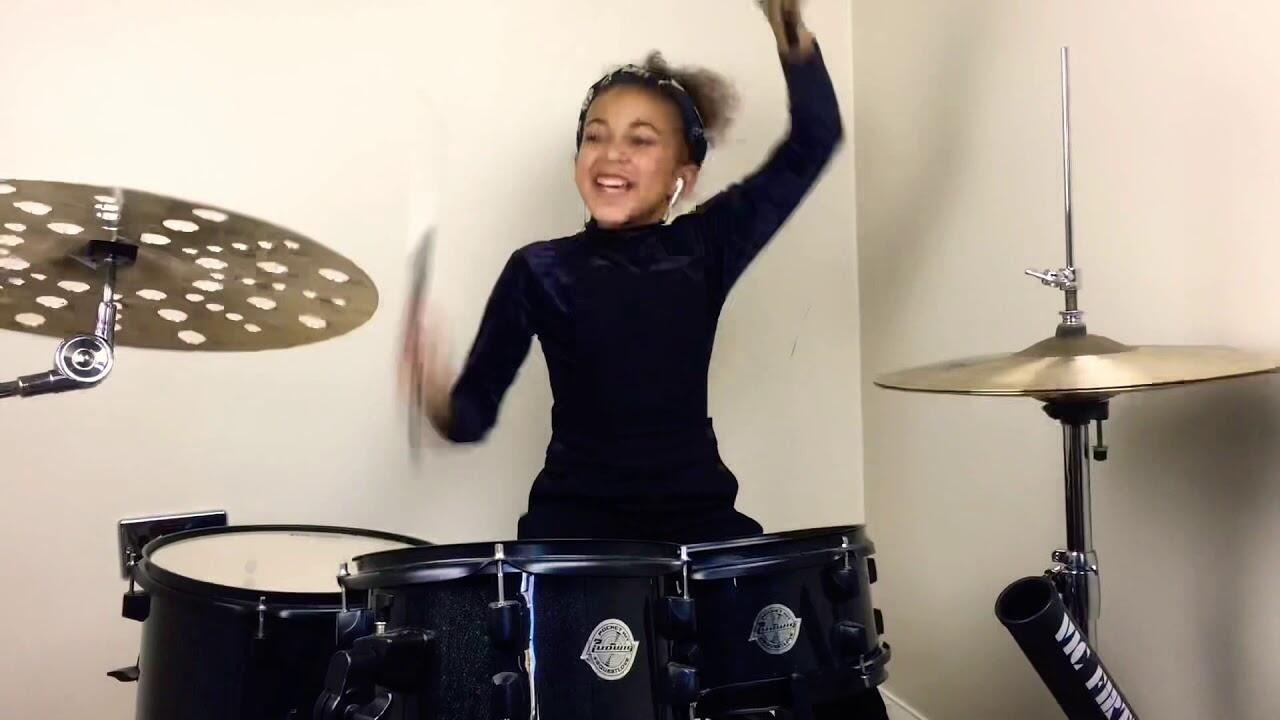"""9-Year-Old Blows Off Some Steam With Drum Cover Of Nirvana's """"In Bloom"""""""