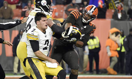 Sports Top Stories - Myles Garrett Suspended Indefinitely For Hitting Steelers QB With Helmet