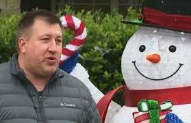 Frank Bell - Family Told to Take Down Christmas Decorations because it's too early