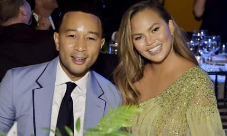 Trending - Chrissy Teigen Scaring John Legend As He Hosts 'Ellen' Is Couple Goals