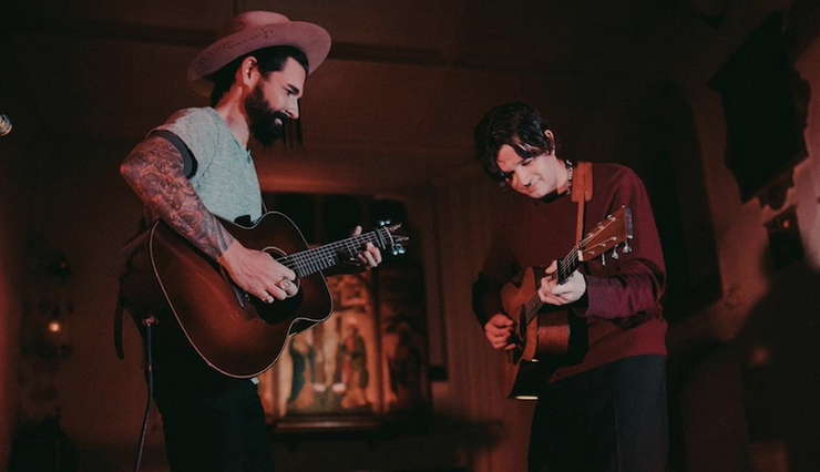 Matty Healy Joins Dashboard Confessional To Cover The 1975's 'Sex': Watch | iHeartRadio