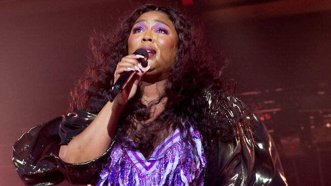 Lizzo Performs At Victoria Warehouse, Manchester