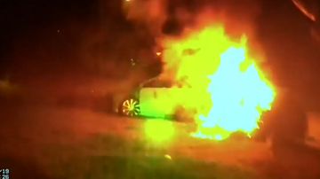 Noticias Nacionales - Police in Virginia Pull Woman Out of Burning Vehicle Following Crash