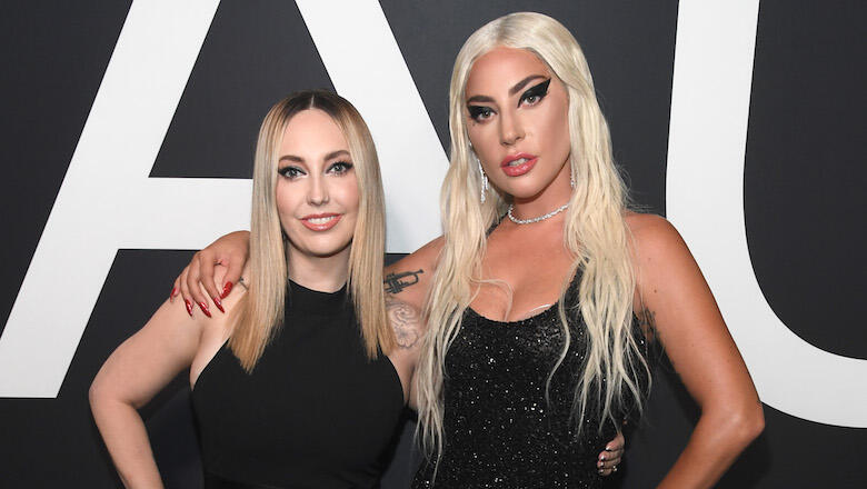 Lady Gaga serves as bridesmaid for her makeup artist and friend Sarah
