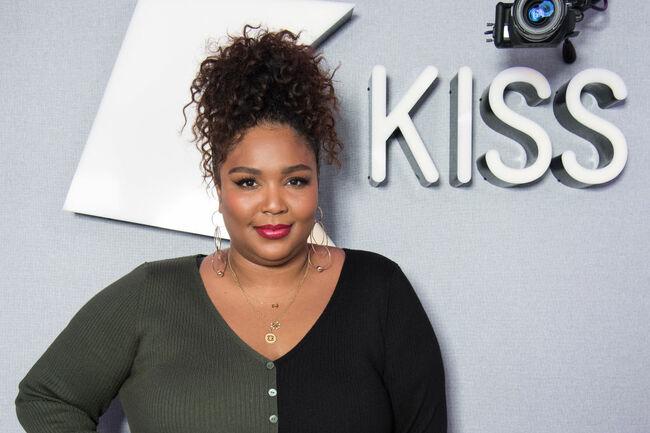 Lizzo Visits KISS FM