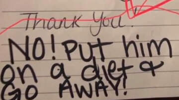 National News - Day Care Worker Puts Fat Shaming Note In Five-Year-Old's Lunchbox
