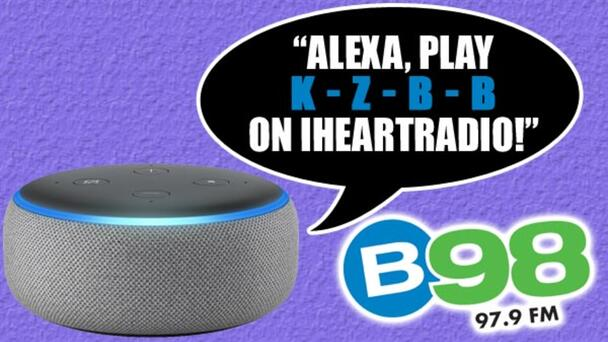Listen To B98 Anytime On Your Smart Speaker! Here's how to find us on your Alexa or Google device!