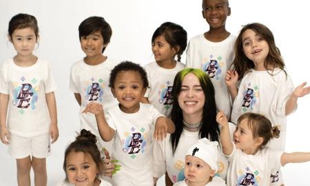 Trending - Billie Eilish Launches Kids Clothing Line