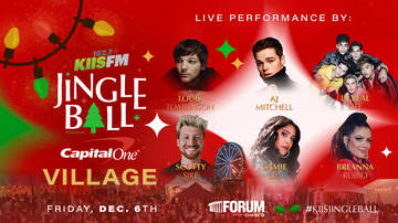 Jingle Ball - Louis Tomlinson, AJ Mitchell & More To Perform At KIIS Jingle Ball Village