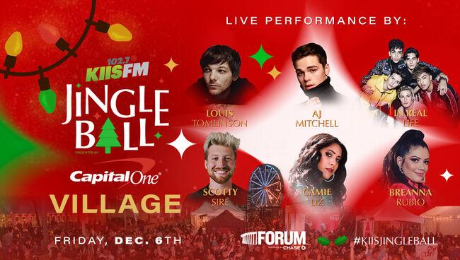 Louis Tomlinson, AJ Mitchell & More To Perform At KIIS Jingle Ball Village