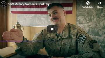 KC O'Dea Show - Things Military Members Don't Say...