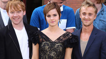 Entertainment News - Rupert Grint Says Emma Watson & Tom Felton 'Always' Had A 'Spark'