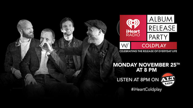 iHeartRadio Album Release Party with Coldplay