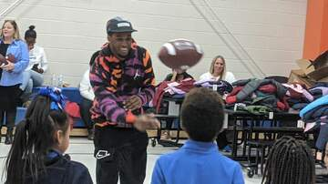 Local News - The Browns Denzel Ward surprises kids with coats