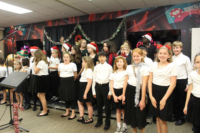First Baptist School Performs at Christmas Live 2019