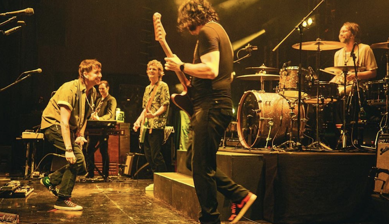 Julian Casablancas Joins The Raconteurs Onstage To Perform 'The Modern Age'