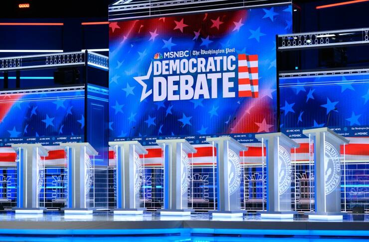 Here's All You Need To Know Ahead of Tonight's Democratic Debate in Atlanta | iHeartRadio