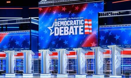 National News - Here's All You Need To Know Ahead of Tonight's Democratic Debate in Atlanta