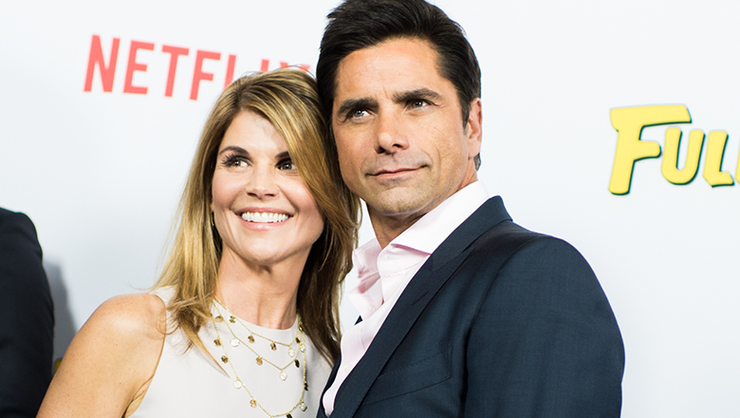 John Stamos Shares Pics Of Lori Loughlin & Sweet Note About 'Fuller House'  | iHeartRadio