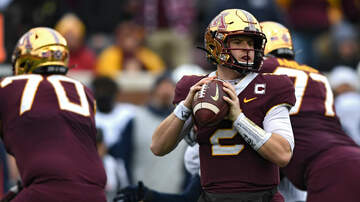 Gopher Blog - Minnesota QB Morgan uncertain for next game with concussion | KFAN 100.3 FM