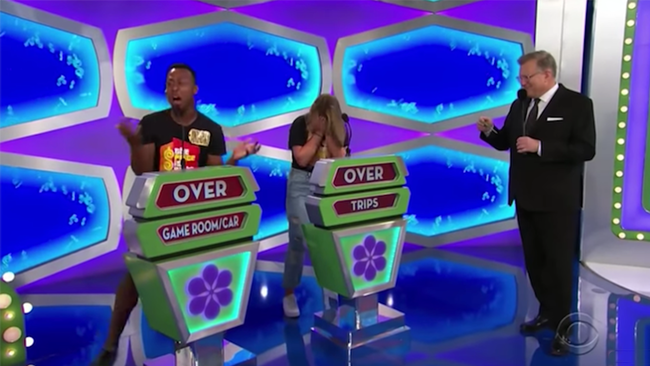 Painful 'Price Is Right' Clip Shows Both Contestants Overbidding By Dollars