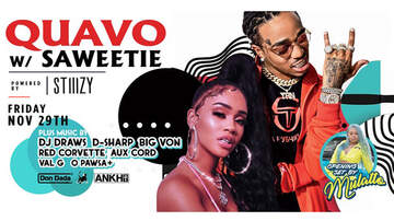 None - Saweetie & Quavo At The Midway