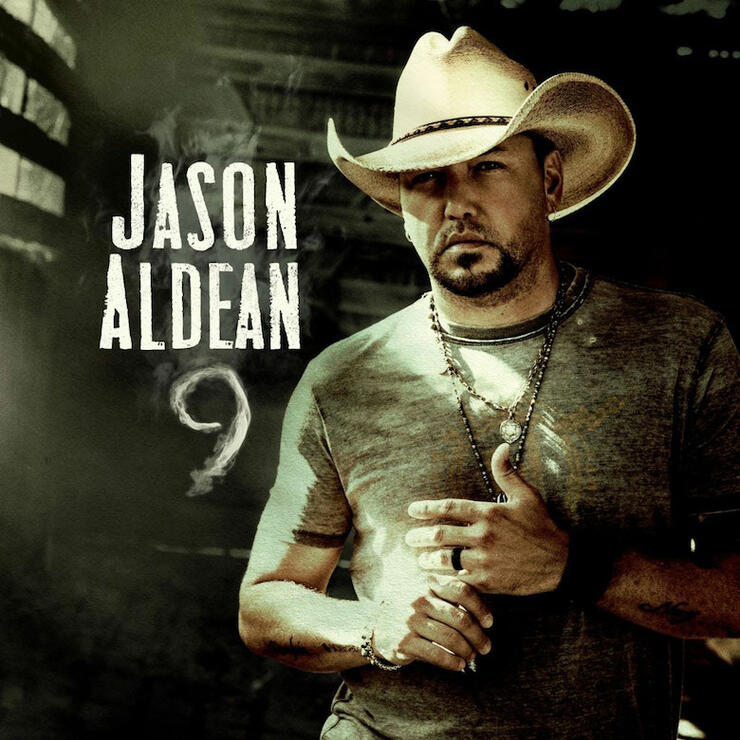 Jason Aldean - '9' Cover Art