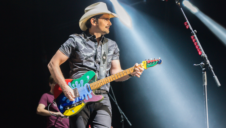 Brad Paisley's Sister-In-Law Reveals He Refrigerates His Guitars