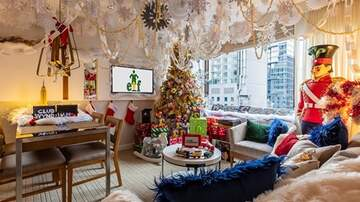 Beth and Friends - Stay In An Elf-Inspired Suite This Christmas That Comes With Cookie Dough