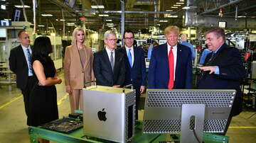 Texas News - President Trump visits Apple plant in Austin