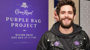 "None - Thomas Rhett Joins Forces With Crown Royal For ""Purple Bag Project"""