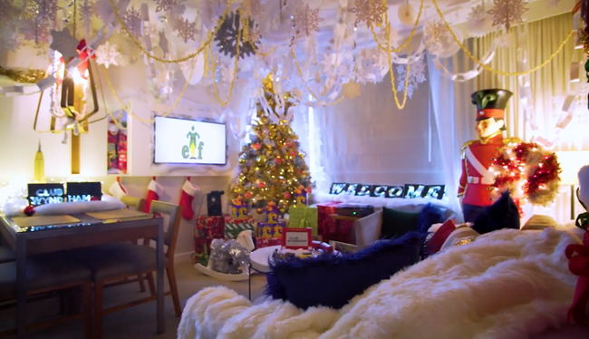 What 26 Yr Olds Care About: Hotel Offers Up 'Elf' Inspired Suite