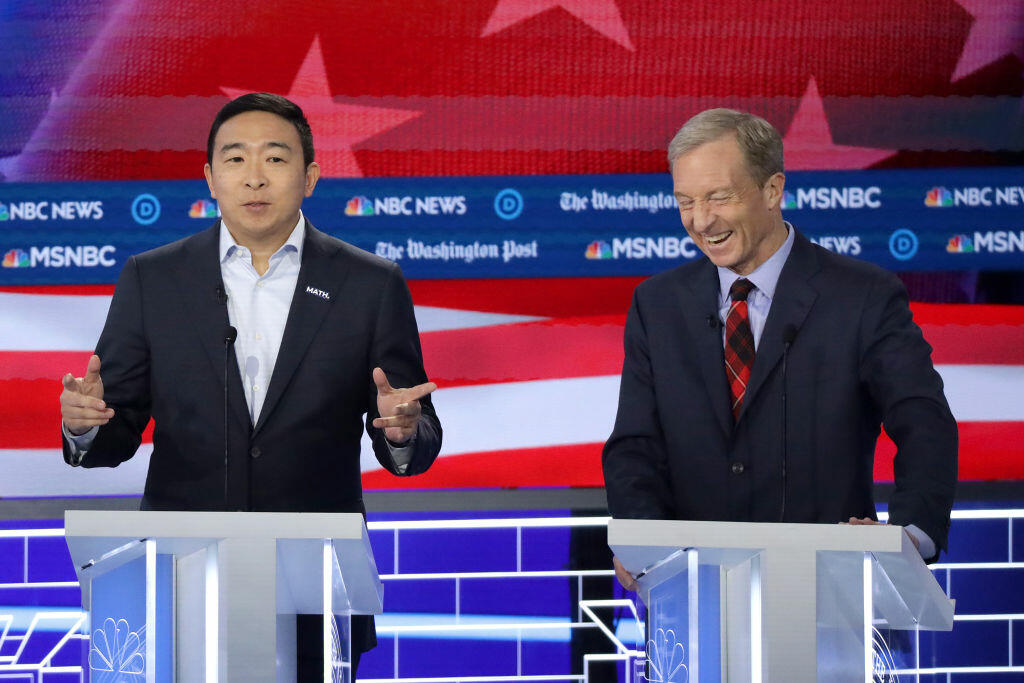 Dem. candidate Andrew Yang still trying to connect with Iowa voters
