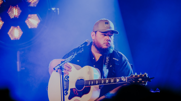 iHeartRadio Live - Luke Combs Talks Best Song He Wrote, His Johnny Cash Guitar And New Music