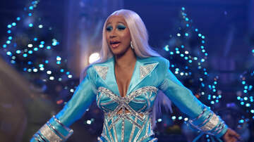Entertainment News - Cardi B Plays Santa, Spreads The Wealth In New Holiday Ad For Pepsi