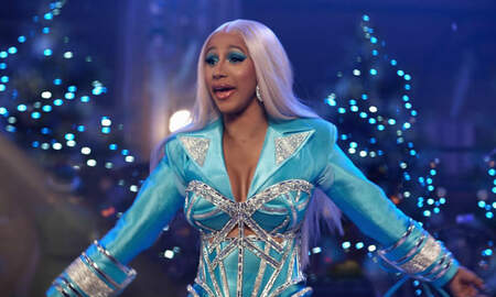 Trending - Cardi B Plays Santa, Spreads The Wealth In New Holiday Ad For Pepsi