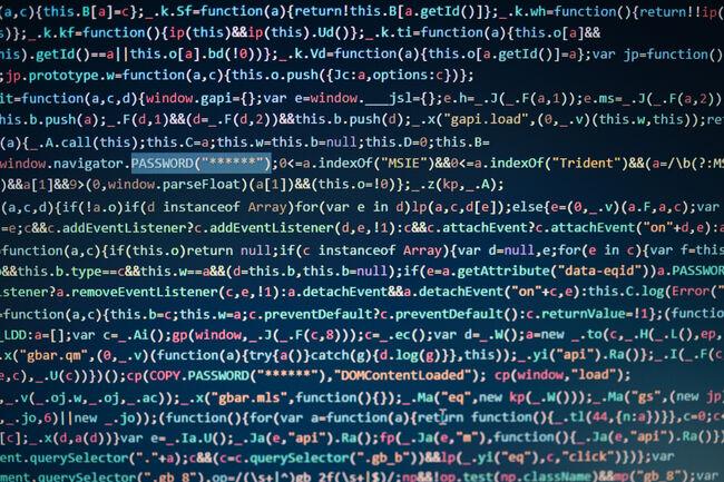 Full Frame Shot Of Code