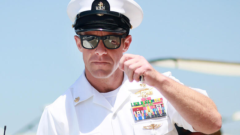 Trump says Navy SEAL Edward Gallagher won't lose commando unit pin