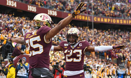 Gopher Blog - No. 10 Minnesota pushes toward division title at Northwestern | KFAN 100.3